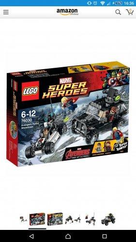 Lego 76030 Avengers Hydra Showdown £15.00 (Prime) £18.30 (Non Prime) - Amazon