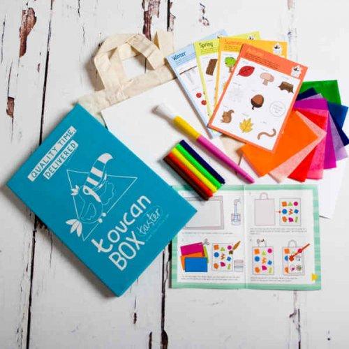 Free Toucan Kids Activity Box
