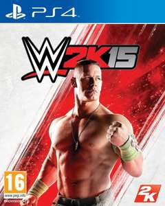 WWE 2K15 PS4 Playstation 4 Amazon.co.uk £20