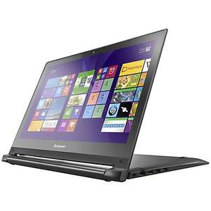 "Lenovo Flex 2 Dual-Mode Laptop, Intel Core i7, 16GB RAM, 256GB SSD, 15.6 "" Touch Screen, Black £649.95 JOHN LEWIS plus £50 CASH BACK"