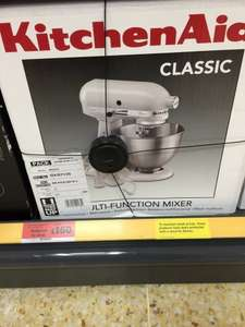 Kitchenaid classic mixer in white £160 from Sainsburys in store