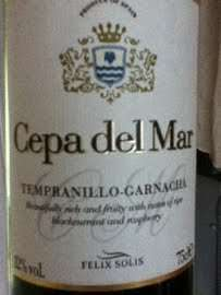 Felix Solis Cepa del Mar Tempranillo Garnacha £3 a bottle at ASDA