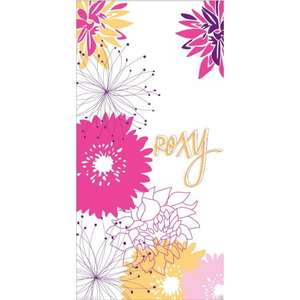 Roxy Womens/Ladies Floral Beach Towel £6.49 + £2.59 p+p £9.08 total delivered @ universal Textiles