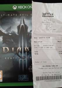 Diablo III: Reaper of Souls - Ultimate Evil Edition (Xbox One) £10.00 Instore @ Smyths