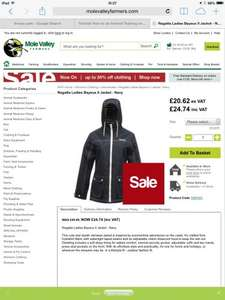 Regatta Ladies Bayeux II Jacket - Navy £24.74 HURRY ONLY SIZES 10-12-14 LEFT @ molevalleyfarmers