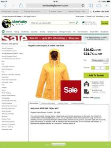 Regatta Ladies Bayeux II Jacket - Old Gold £24.74 HURRY ONLY SIZES 10-12-14-16-18 LEFT @ Mole Valley Farmers