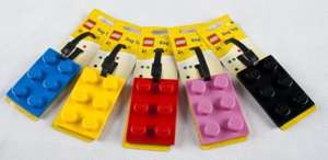 Lego luggage tag £1 at Poundland