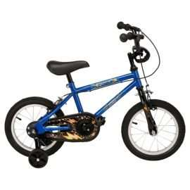 "Urban Racers Lightning 14"" Kids' Bike with Stabilisers 60% off @ Tesco reduced from £65 to"