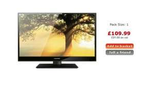 Blaupunkt 24 147 24 Inch LCD Television 1080P with built in DVD and Freeview USB PVR £109.99 + delivery £3.95 (£113.94) @ Bigpockets