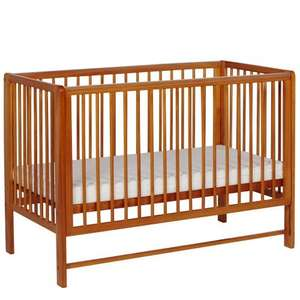 antique pine tutti bambini drop side cot. £49 plus £9.95 delivery charges. over 60% discount! £58.95