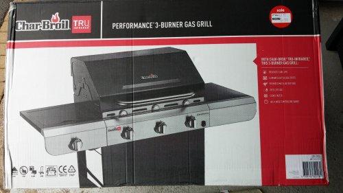 Char-Broil 3 Burner Gas BBQ - Asda - Fosse Park - Was £179 now £139