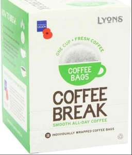 Lyons coffee bags x18 £1.72 online/in store @ morrisons