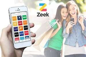 £3 for £10/ £27.50 for a £40 Zeek voucher. High Street Gift card from zeek (new customers only)  ** Pls DO NOT offer or request referrals **