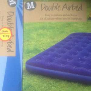 Morrisons Double Airbed £8.98 at Morrisons
