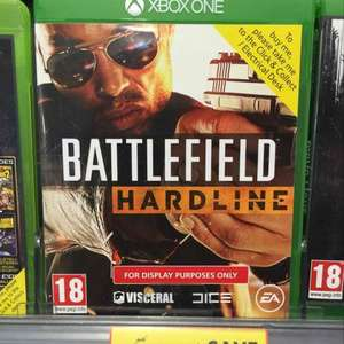 Battlefield Hardline £24 at Tesco (Instore XboxOne and PS4)