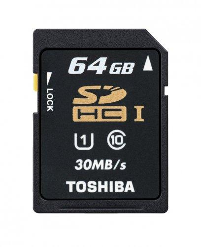 Toshiba 64GB UHS-I  Class 10 SDXC Memory Card  £12.49 7dayshop