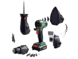 PARKSIDE 14.4V Li-Ion 4-in-1 Combination Tool (drill, sabre saw, multi-sander and multi-function tool) £59.99 @ Lidl