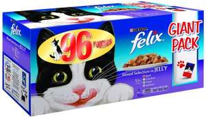 Felix giant pack 96 pouches £20 @ Amazon