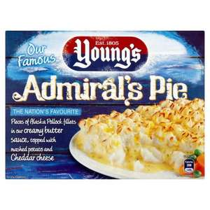 Admirals Fish Pie 69p each at Farmfoods