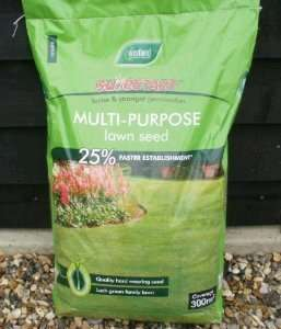 Westland SureStart Multipurpose Lawn Seed 300 SqM only £25 at Tesco