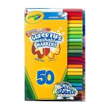 50 Crayola Supertips £4.50!! @ Tesco