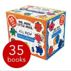 Mr. Men & Little Miss All New Story Collection - 35 Books £15 + £2.95 p&p £17.95 @ The Book people