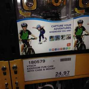 kidizoom fun cam with case and mount at costco for £29.96