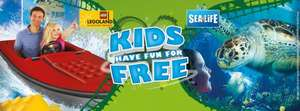 Birds Eye - Kids go free to Merlin Attractions with one full paying adult/child on selected packs