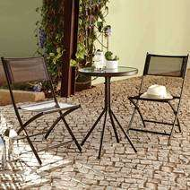Oslo Two Seater Bistro Garden Furniture Set. £14.99.Dunelm in store c&c only.