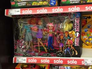 Monster high wolf family 4 doll pack £20 @ Asda Leicester (fosse park)