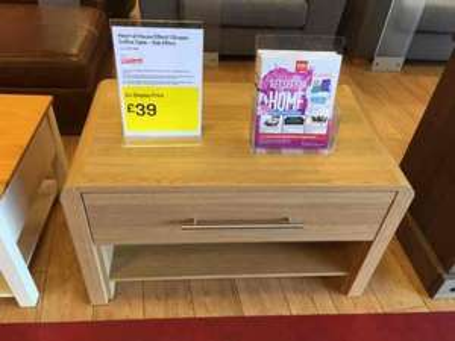 Argos Ex-Display furniture £39