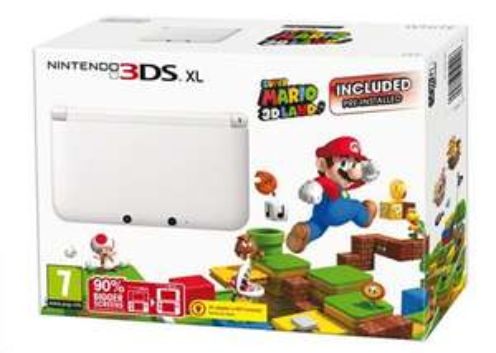 White Nintendo 3DS XL + Super Mario 3D Land £109 @ Tesco Direct