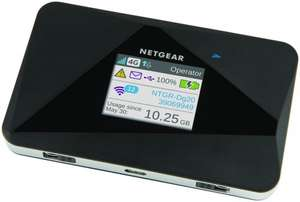 NETGEAR AC785-100EUS AirCard AC785 Mobile Hotspot with super-fast 4G LTE £69.99 @ Amazon