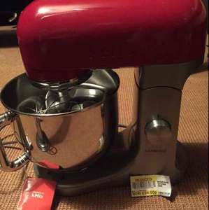 KENWOOD KMIX KMX50GRD VERMILLION RED STAND MIXER £94.50 in store @ Tesco