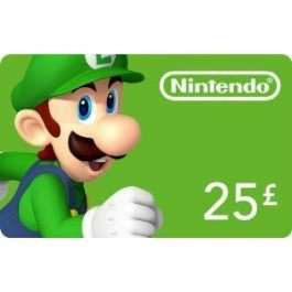£25 Nintendo eshop card £20.84 @ cdkeys (using Facebook code)