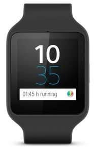Sony Mobile SWR50 SmartWatch 3 Fitness and Activity Tracker Wrist Watch Compatible with Android 4.3+ Smartphones - Black £94.99 @ Amazon