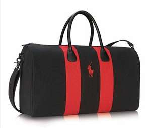 Ralph Lauren Polo Red 75ml + Duffle bag £33.58  + Free samples + Free Delivery @ The Fragrance Shop