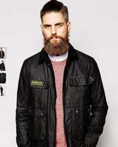 Mens Barbour Jacket - Waxed Jacket (all sizes) £160 @ Asos