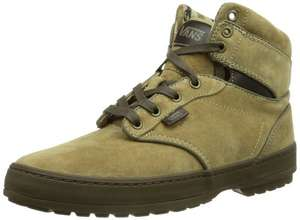 Vans Atwood Boot, Men's High-Top Trainers khaki £21.49-£25.33/Black £24 @ Amazon.co.uk