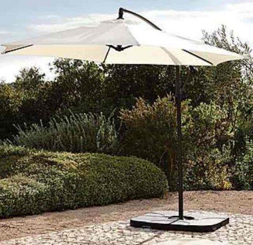 Leanover parasol £22.49 @ Dunelm