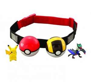 Pokemon Clip n Carry Poke Ball Belt £7.99 (prime) £11.29 (non prime) @ Amazon