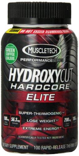 Muscletech Hydroxycut Hardcore Elite 100 Caps £19.41 @ Astronutrition