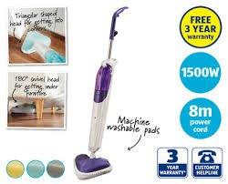 Aldi 1500w steam mop only £12.99 plus 3 year warranty!