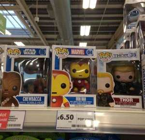 Funko Pop vinyls £6.50 @ Tesco in store