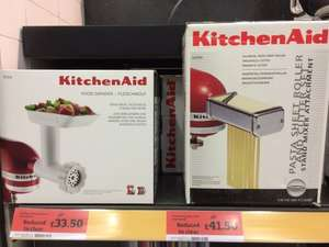 KitchenAid KPRA Pasta Attachment for KitchenAid Mixer £41.50 @ Sainsburys instore