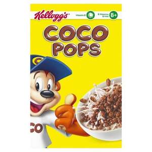 Half price cereals at Tesco - Coco pops 800g £1.87, Krave 650g £1.99, Shredded Wheat 750g  £1.59.