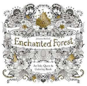 HALF-PRICE: Enchanted Forest: Art Therapy Adult Colouring Book - £4.99  (Prime) / £7.74 (non Prime) @ Amazon (FREE Delivery on orders with at least £10 of books)