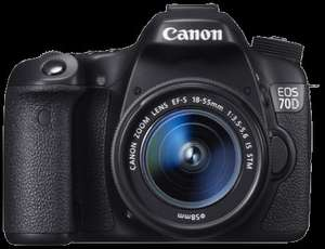 Canon EOS 70D EF-S 18-55mm IS STM Lens Kit  + FREE SANDISK 32GB EXTREME PRO CARD, also 0% finance available  £701.43 cliftoncameras