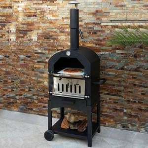 half price charcoal pizza oven from dunelm £74.99 plus 9.95 delivery (£84.94) @ Dunelm
