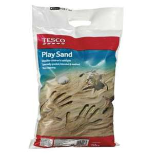Tesco Play Sand 10kg - Instore Only - 63p (found in Kilbirnie, should be national))